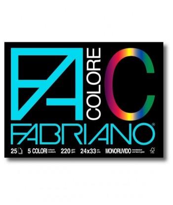 FABRIANO BLOCCO COLORE...
