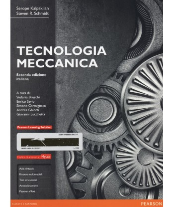 Tecnologia meccanica. Ediz....