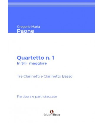 Quartetto n. 1 in Si♭...