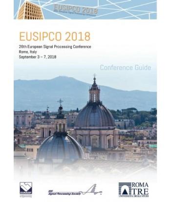 EUSIPCO 2018 - 26th...